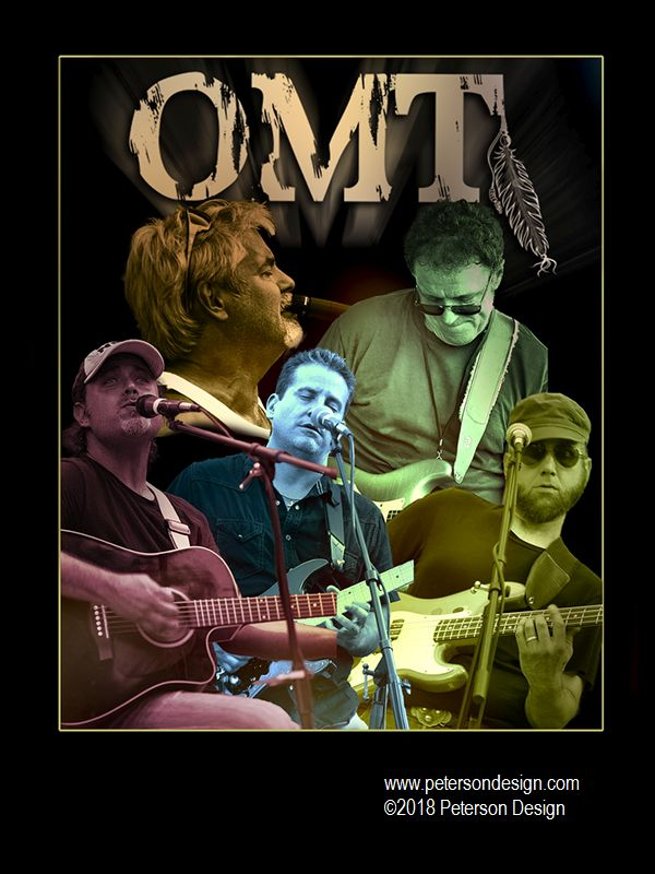 Promotional Image of Naperville Classic Rock Band OMT