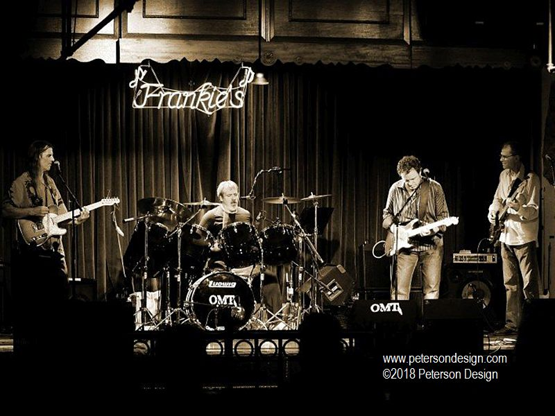 Image of the Band OMT playing at Frankie's Blue Room